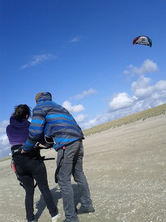 first lesson: controlling the kite