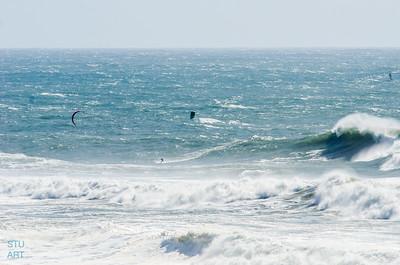 Kite Surfing Mavericks