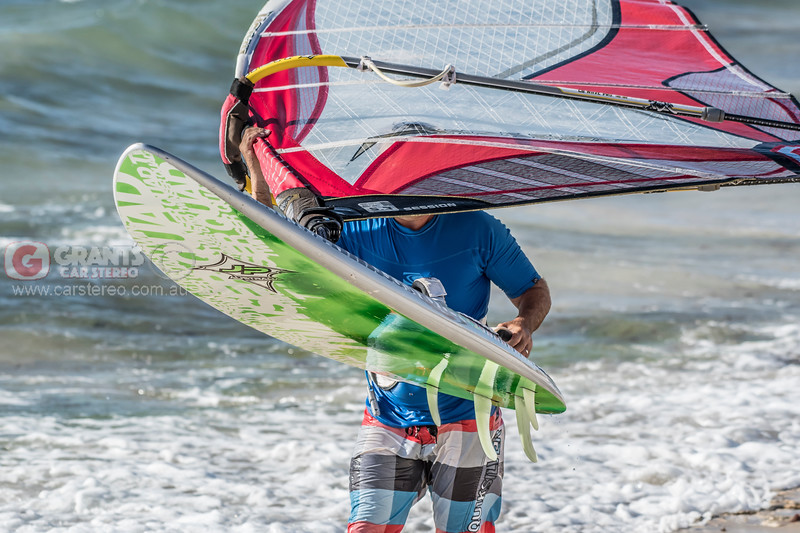 We cannot show his face because this man is a windsurfer.  :)