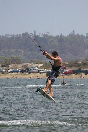 Kite boarding pics 9/2/07