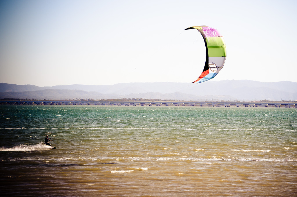 "Alternate Processing: ""PH Surreal Moment"" - Afternoon Kiteboarding; Woody Point, Redcliffe, Queensland, Australia; 18 August 2012. Photos by Des Thureson - <a href=""http://disci.smugmug.com"">http://disci.smugmug.com</a>."