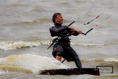 Kiteboarding at Charley's Bluff on Lake Koshkonong  © Copyright m2 Photography - Michael J. Mikkelson 2009. All Rights Reserved. Images can not be used without permission.