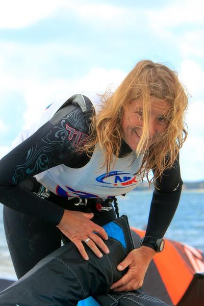 Fabienne d'ORTOLI - Double championne du monde