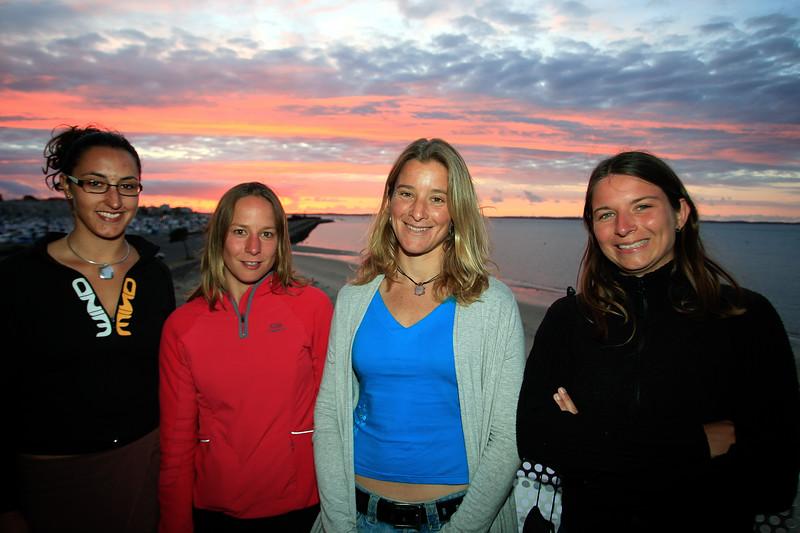 Caroline ADRIEN, Céline GRIMOND, Fabienne d'ORTOLI et Bénédicte MARIE