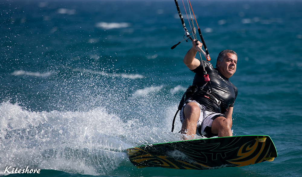 Taken by Sergey's wife (Kiteshore) on 5/6/2011 at Avdimou beach, Cyprus.
