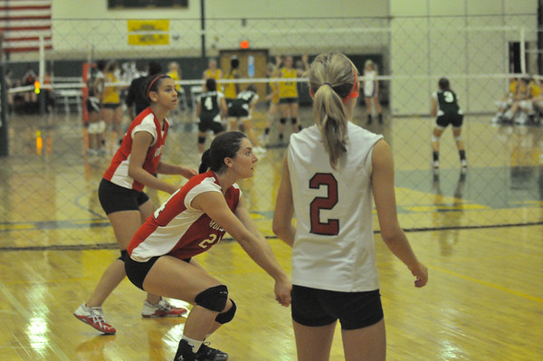 Knight's Volleyball 2011-09-24