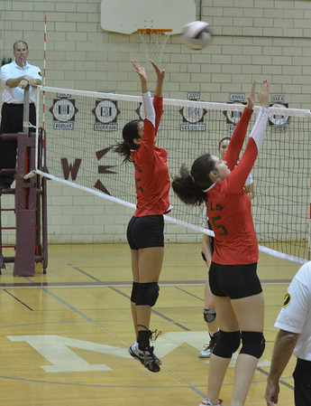 MHHS Volleyball 2012-10-02