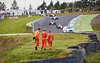 Marshals at Knockhill Racing Circuit - 12 August 2017