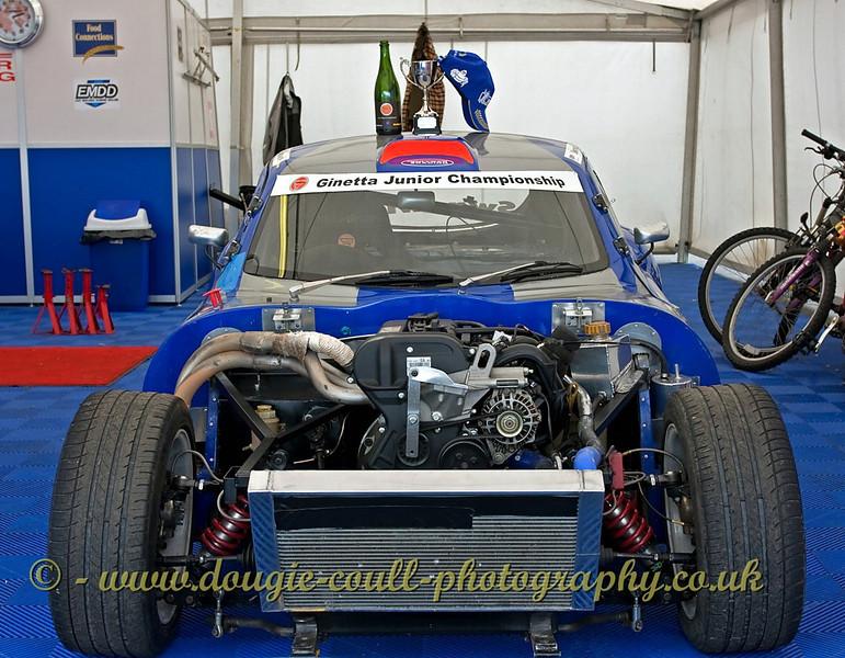 Winning Car - Knockhill