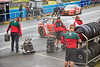 Pit Crew at Knockhill Racing Circuit - 12 August 2017