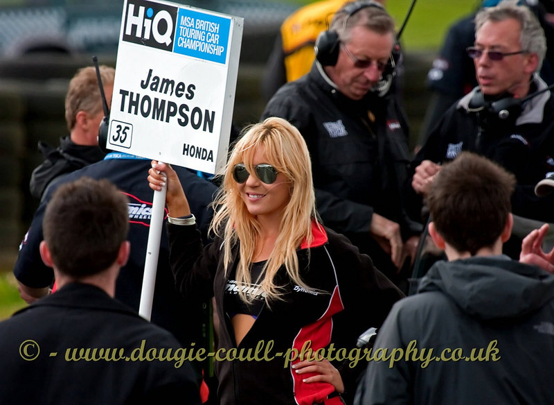 Busy Grid - Knockhill