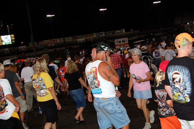 Fans Fill the Pits!