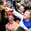 3-8-14<br /> Kokomo vs McCutcheon sectional championship<br /> Fans and players celebrate Kokomo's sectional win against McCutcheon.<br /> KT photo | Kelly Lafferty
