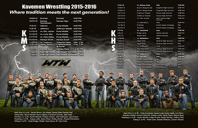 Kuna High and Middle School {Wrestling 2015}