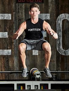 Oct. 22, 2017- - New York New York Fitness photoshoot at Fortitude Strength Club NYC  Kyle Fields (Fortitude Strength)  Photographer- Robert Altman Credit: Robert Altman