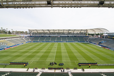 LA Galaxy vs FC Dallas at StubHub Center on Saturday March 4th, 2017 in Carson California. The LA Galaxy loses to FC Dallas, 1-2. JOSE CASTANEDA/PI