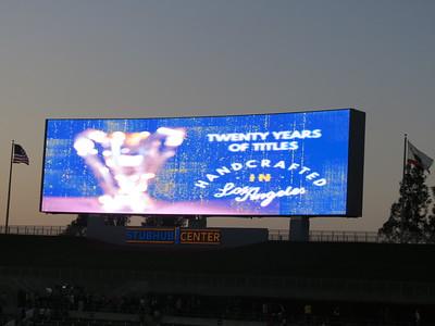LA Galaxy vs Sporting KC - 4/18/15