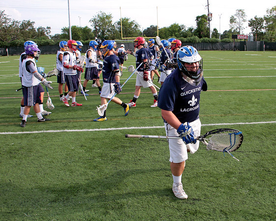 2011 QUICK STIX LACROSSE ALUMNI GAME AT PAN AMERICAN STADIUM IN NEW ORLEANS. OLDIES-V-NEWBIES.  NEWBIES WON...I THINK.
