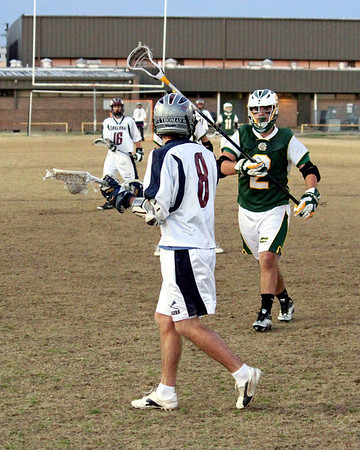 2011 LOUISIANA LACROSSE LEAGUE: Captain Shreve of Shreveport @ St. Thomas More of Lafayette.  St. Thomas More wins.