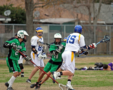 2011 ALL STATE SUGAR BOWL LACROSSE CLASSIC:  The Lafayette Lions vs St. Pauls of Covington.