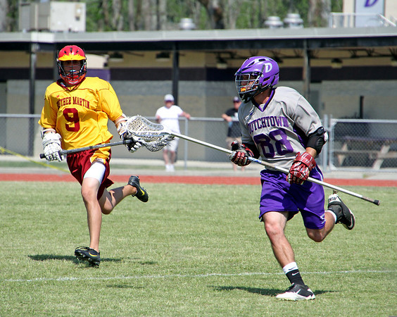 2011 LOUISIANA HIGH SCHOOL LACROSSE LEAGUE:  Br. Martin of New Orleans At Dutchtown.  BR. Martin wins