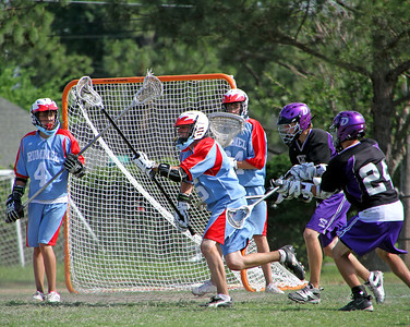 2011 LOUISIANA HIGH SCHOOL LACROSSE LEAGUE:  Dutchtown JV @ Rummel JV.  Dutchtown wins.