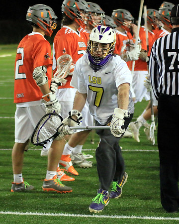2015 LAX MIAMI VS LSU - SUGAR BOWL LACROSSE SERIES