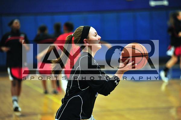 LADY BUCS Varsity hoops vs UP