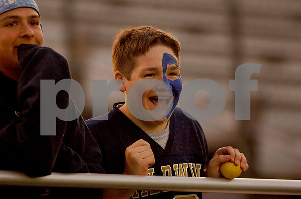 Baldwin fan Timmie St. George, brother of assistant lax coach Tommy St. George. Photo by Kathy Leistner