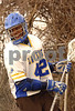 Travis Kennedy, Co-Captain, LHS, March 10th, 2008. #98. Photo by Kathy Leistne
