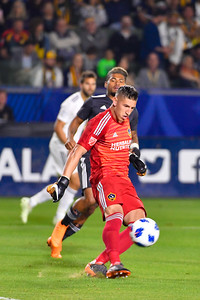 Los Angeles Galaxy loses the game against Atlanta United FC at the StubHub Center on Saturday April 21st, 2018 in Carson, California. LAvsATL