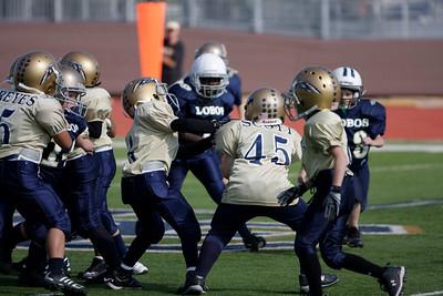 2009-11-07, LE Blue 8U v LE Gold