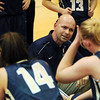 20120103_Fairview_Legacy_WBBall_6.jpg Legacy's head coach Craig Van Patten goes over the first quarter with his starters during their Tuesday, January 3, 2012 game against Fairview hosted by the Knights. (Kira Horvath/Daily Camera)