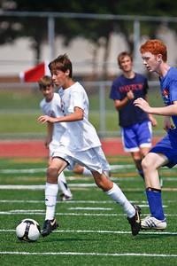 LHS JV Mens Soccer 15-Aug-09 -16