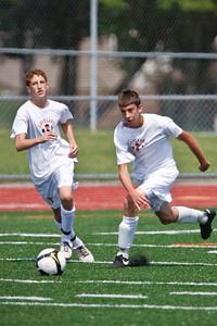 LHS JV Mens Soccer 15-Aug-09 -6