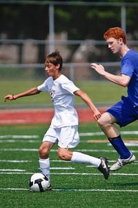 LHS JV Mens Soccer 15-Aug-09 -17