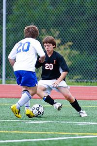 LHS JV Mens Soccer 22-Aug-09 -9