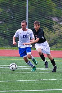 LHS JV Mens Soccer 22-Aug-09 -3