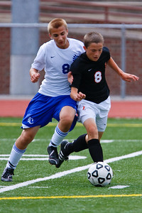 LHS JV Mens Soccer 22-Aug-09 -30