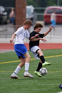 LHS JV Mens Soccer 22-Aug-09 -16