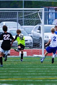 LHS JV Mens Soccer 22-Aug-09 -10
