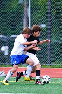 LHS JV Mens Soccer 22-Aug-09 -12