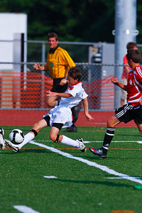LHS Men's JV Soccer Aug 27 Game -12