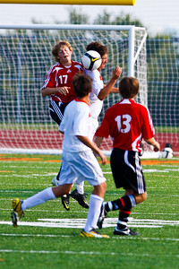 LHS Men's JV Soccer Aug 27 Game -24