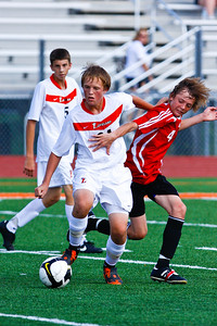 LHS Men's JV Soccer Aug 27 Game -19