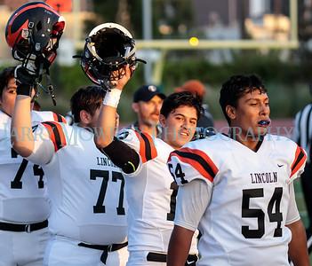 LHS Varsity football vs Belmont 8-31-17