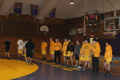 LHS Wrestling Purple and Gold Scrimmage