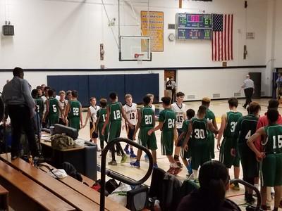 20161129 Basketball JV