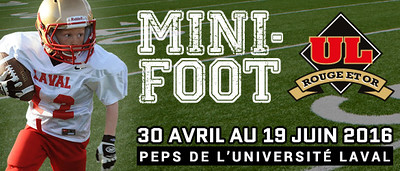 LIGUE DE MINI-FOOTBALL ROUGE ET OR  2016