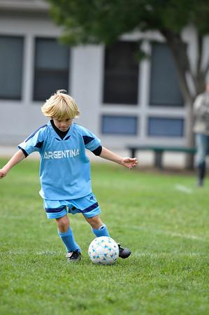 LMYA 2010 Soccer - Team Sweden